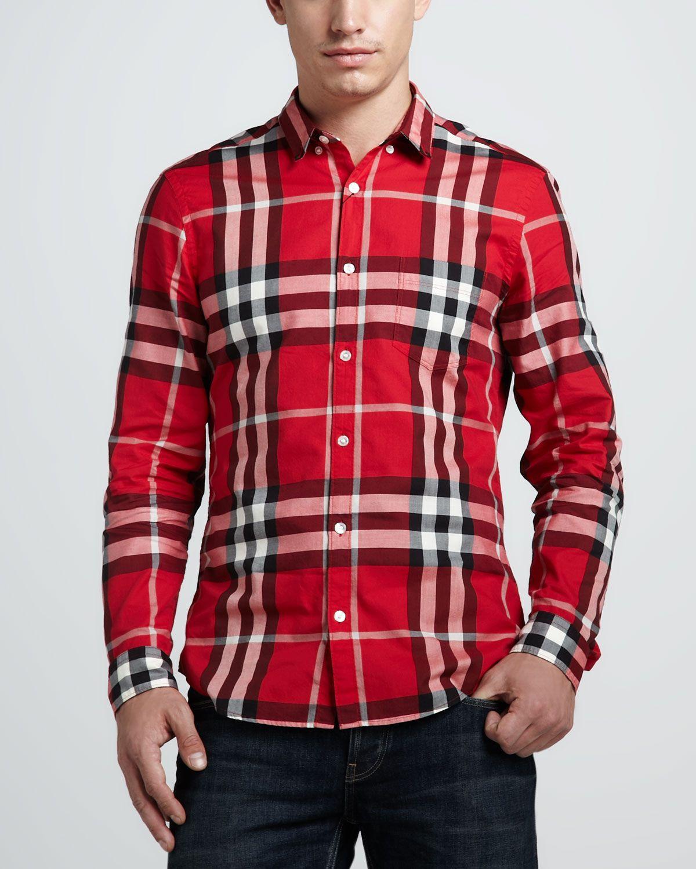 http://symasytes.com/burberry-brit-check-button-down-shirt ...