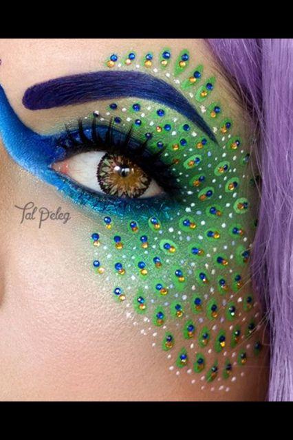 Carnaval schmink - schmink / carnaval | Pinterest - Pauw ...
