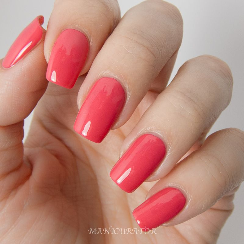 Let S Talk Nail Art: KBShimmer-Early-Summer-2014-Let's-Not-Coral-Creme