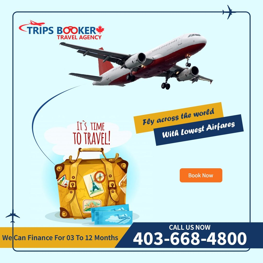 Airline Ticket Reservation, Travel Agency in Calgary