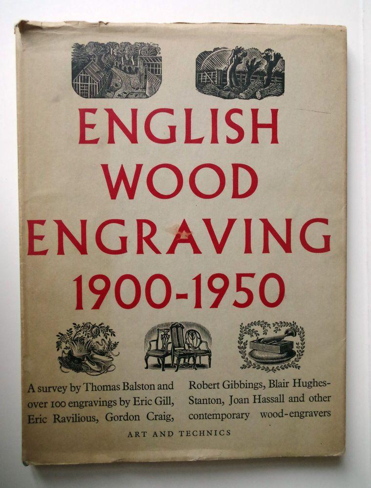 Eric Gill English Wood Engraving 1900-1950 Eric Ravilious