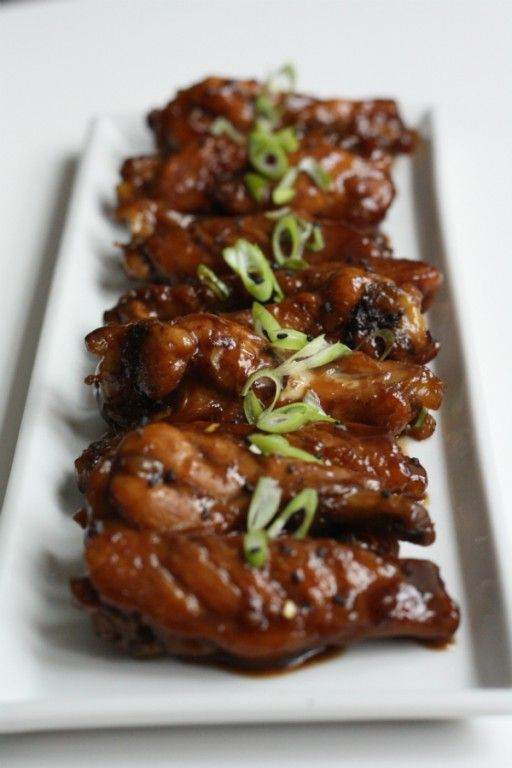 Finger lickin' good: chicken wings with Coca Cola