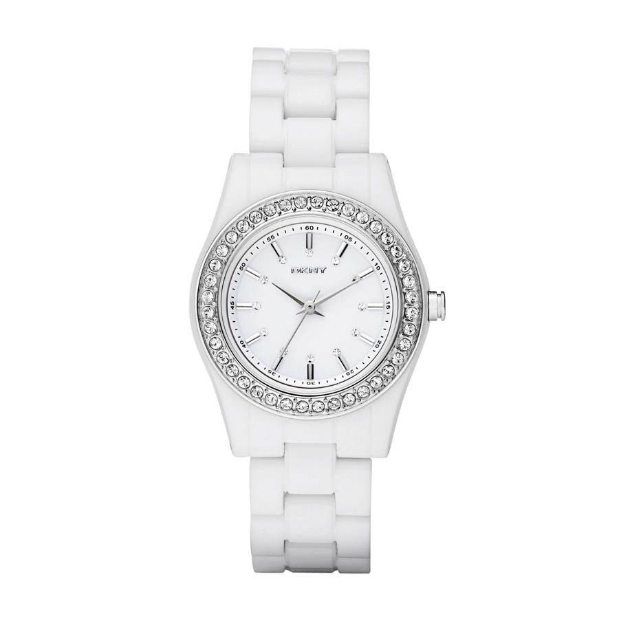 watch womens strap davis and l s zoom product steel dial ceramic white wristwatch design watches women