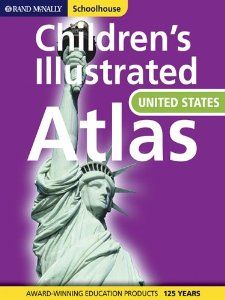 Children S Illustrated Atlas Of The United States Homeschool Hardcover United States