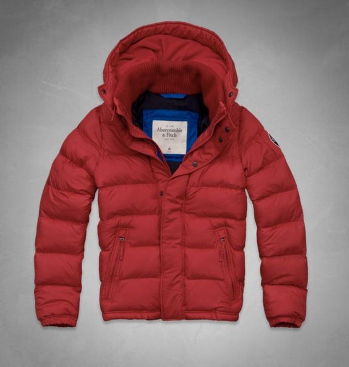 Pin By Jean On Winter Mens Puffer Jacket Abercrombie And Fitch Outfit Red Puffer Jacket [ 1263 x 1200 Pixel ]