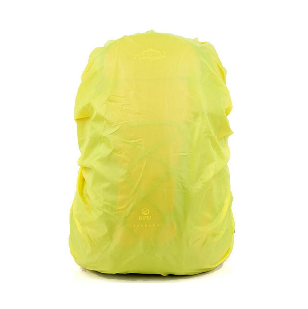 Set of 2[YELLOW]Camping/Hiking Ultrathin Water-proof Backpack Rain Cover,45-55L