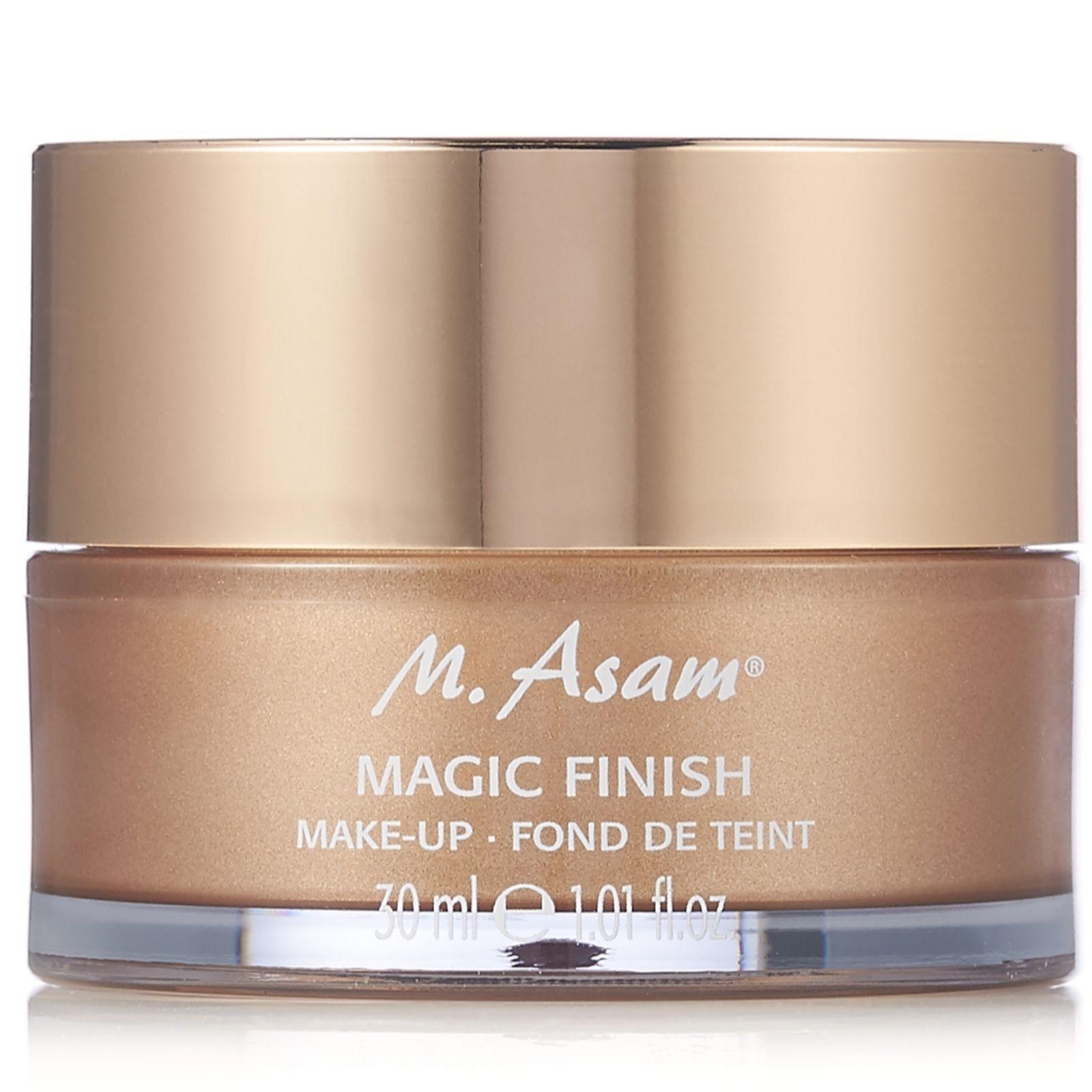 M. Asam Magic Finish Makeup Mousse 30ml QVC UK Makeup