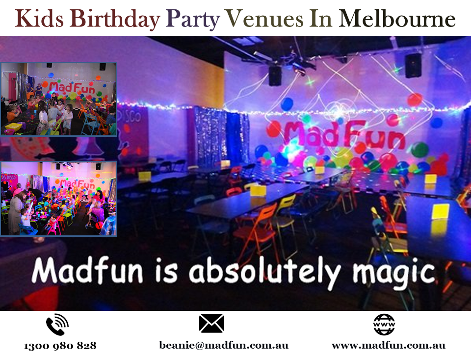 Kids Birthday Party Ideas In Melbourne