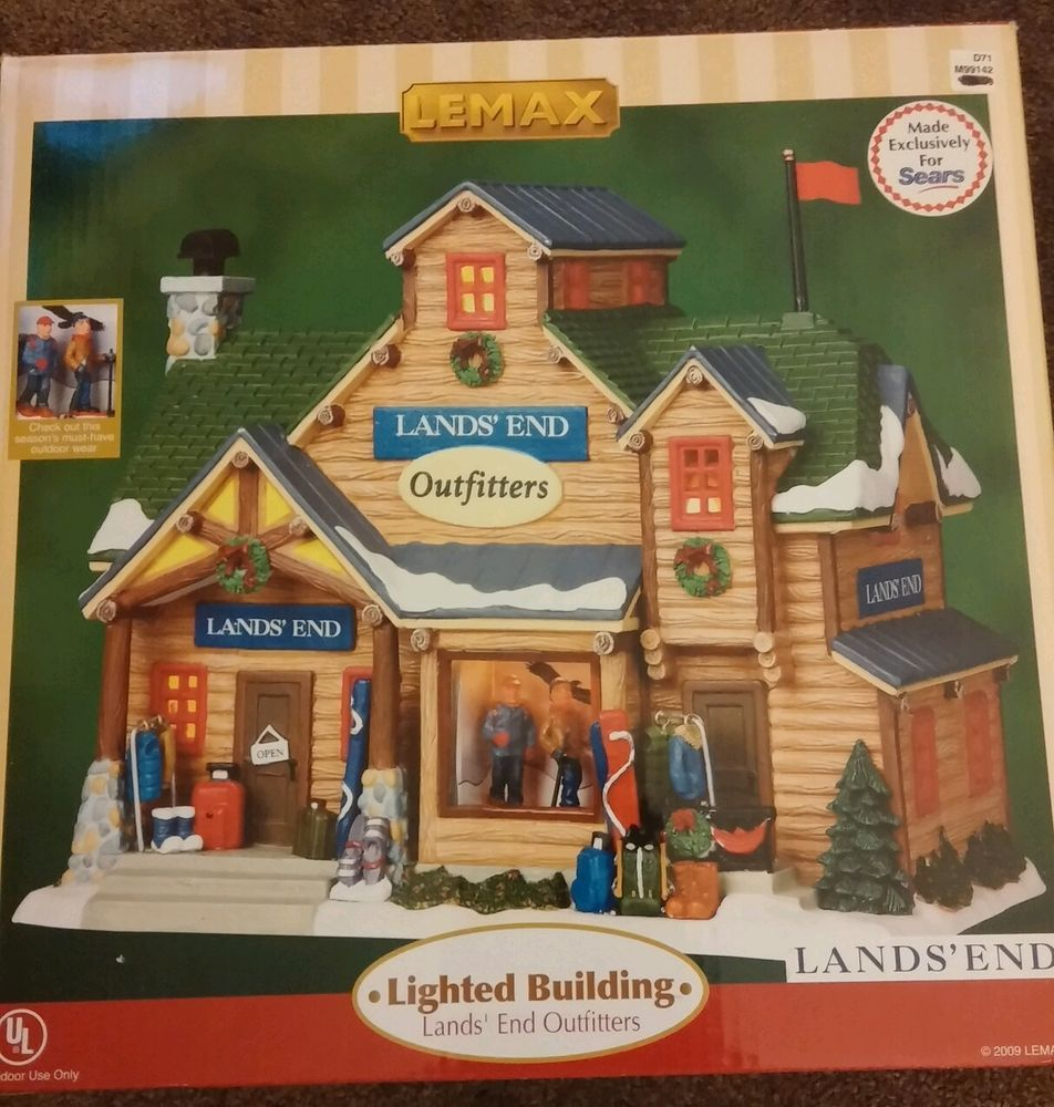 lemax village collection ski gondola brand new never out of box