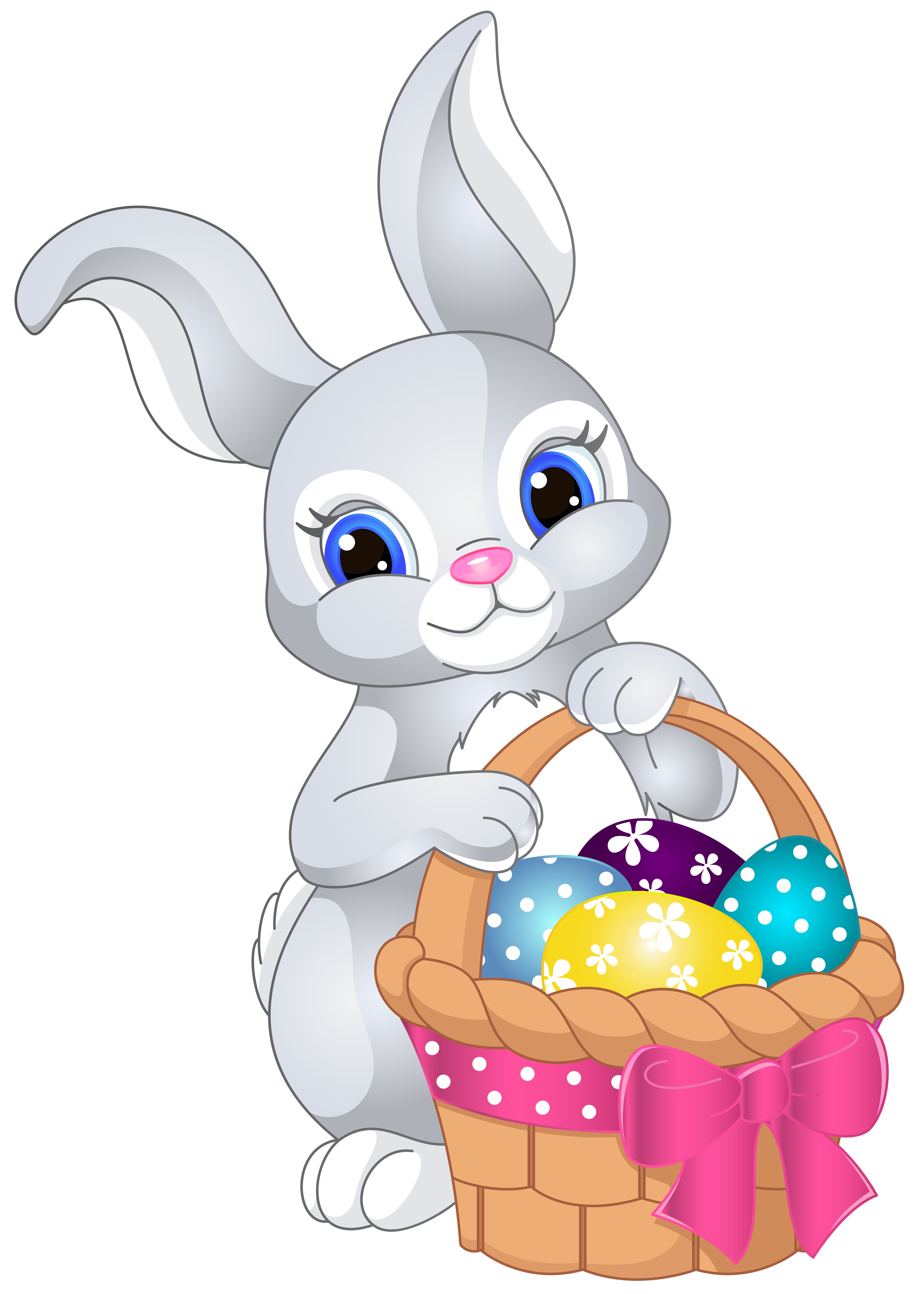 easter bunny cartoon easter bunny pictures rabbit clipart easter gift easter crafts [ 5000 x 7000 Pixel ]