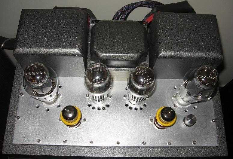 DIY Single-Ended (SE) 300B Tube Amplifier - Top | HIFI in