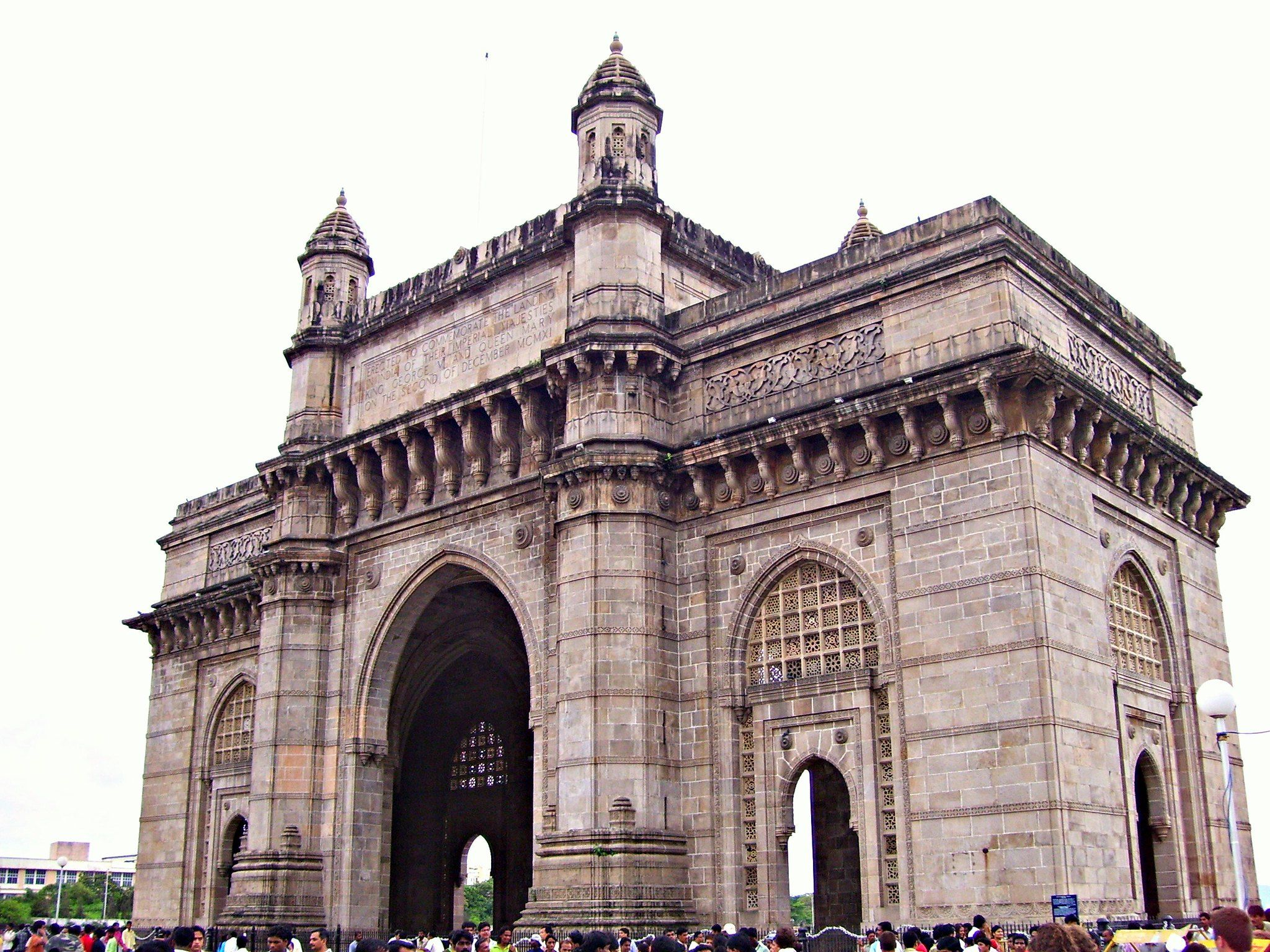 The Gateway of India in 2020 India, Cloudy day, Travel