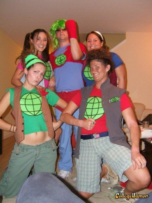 the greatest group costumes of 2009 halloween group