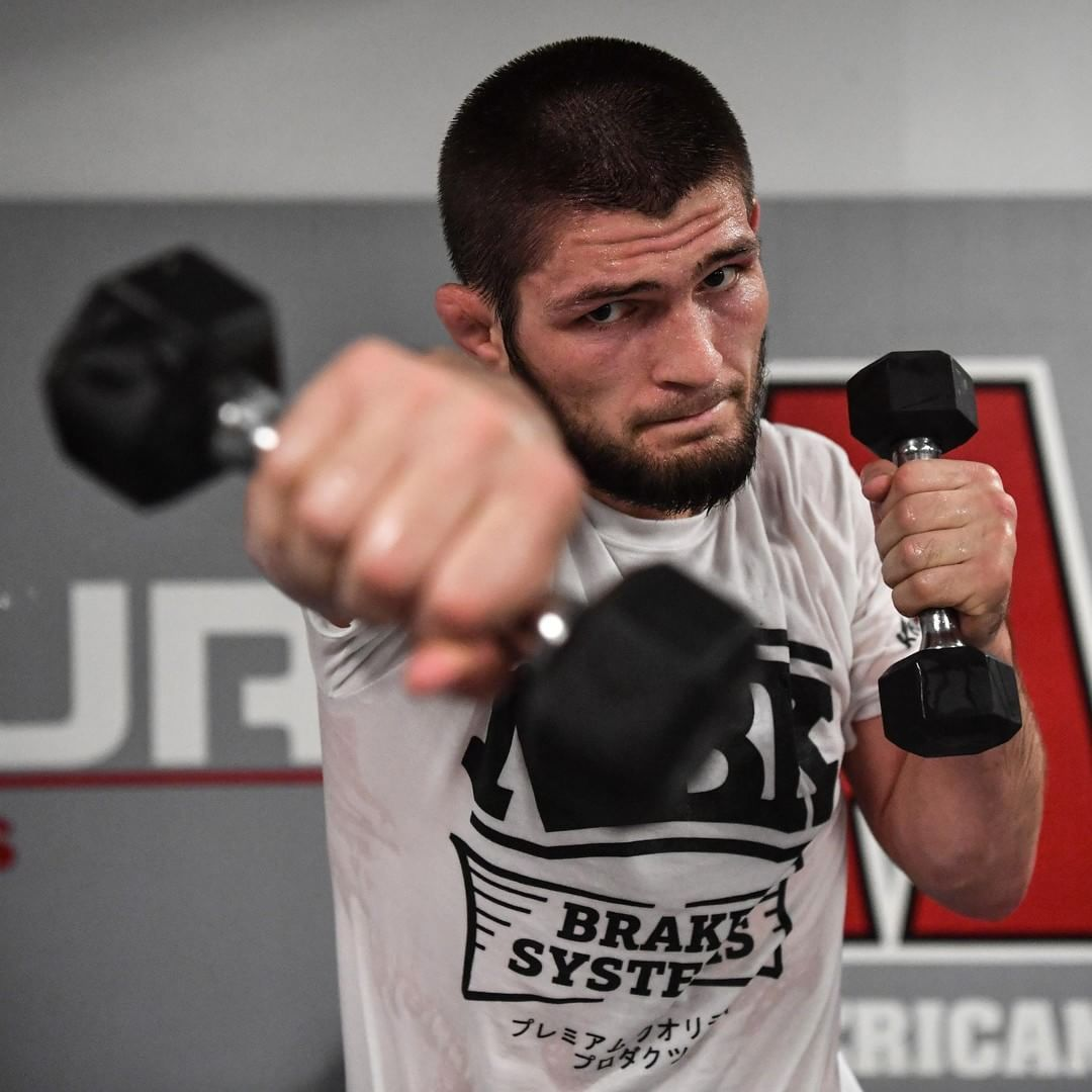 Mixed Martial Arts Games: Almost Time. @Khabib_Nurmagomedov #UFC229