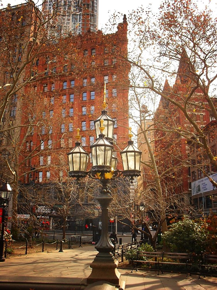 City Hall Park, Civic Center, New York City 6 New york