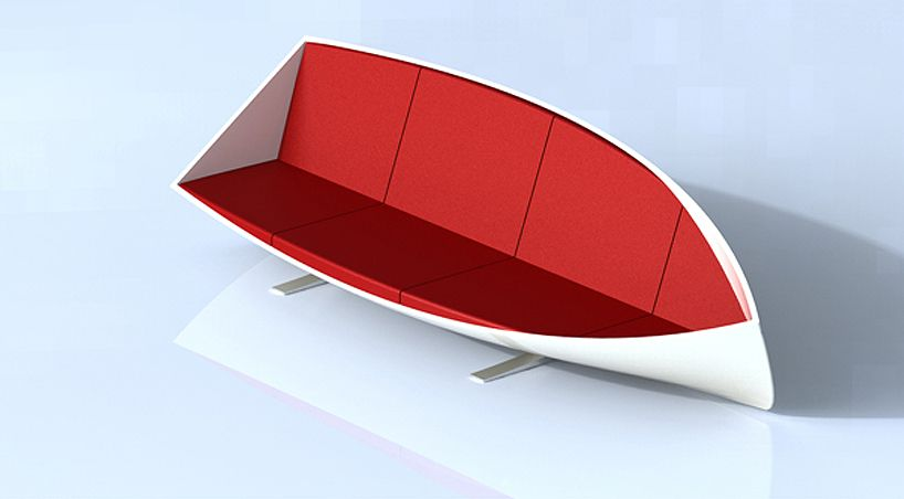 Unusual Boat Sofa By Bongyoel Yang Ideas