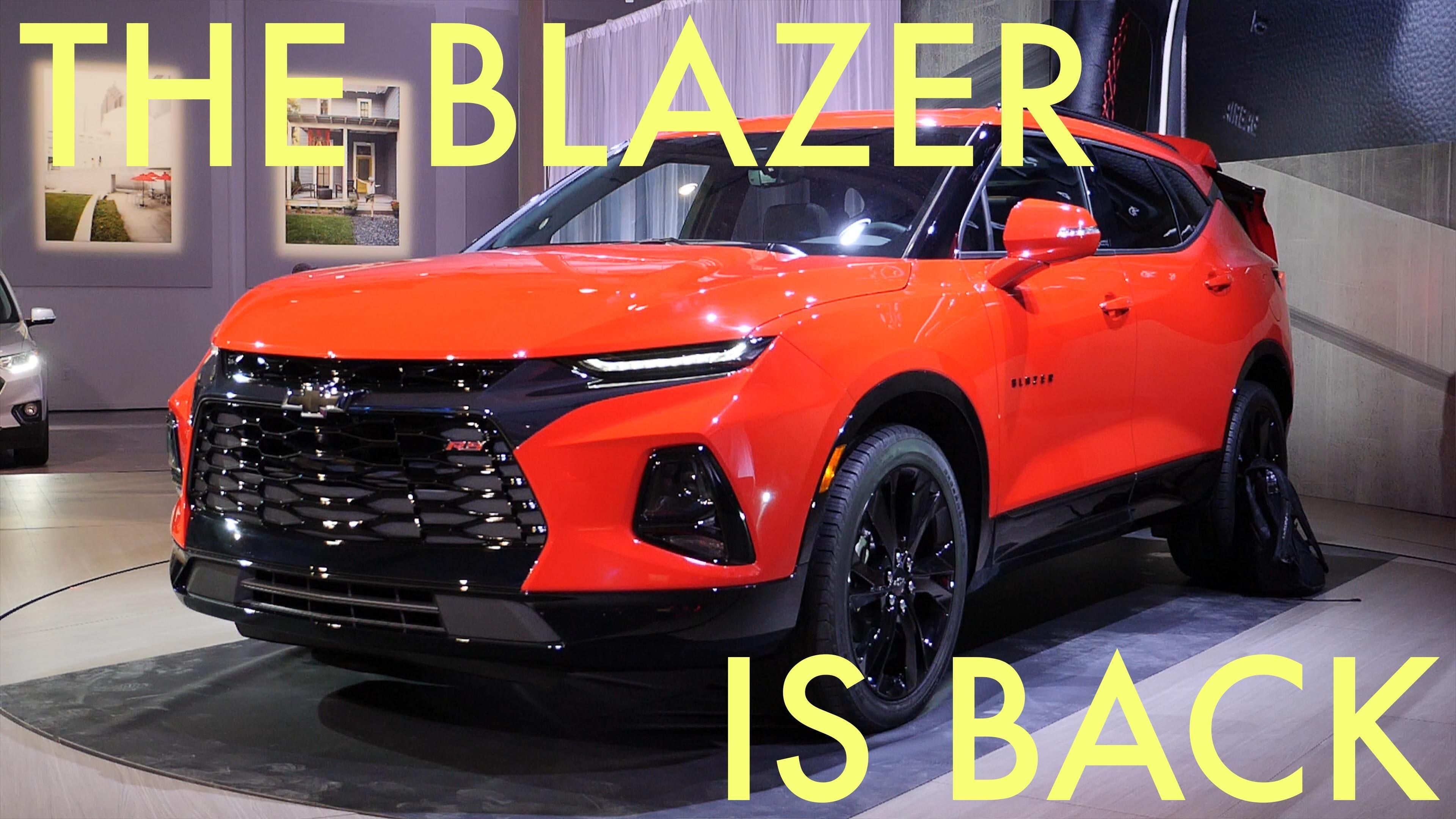 2019 Chevrolet Blazer First Drive With Images Chevrolet Gmc