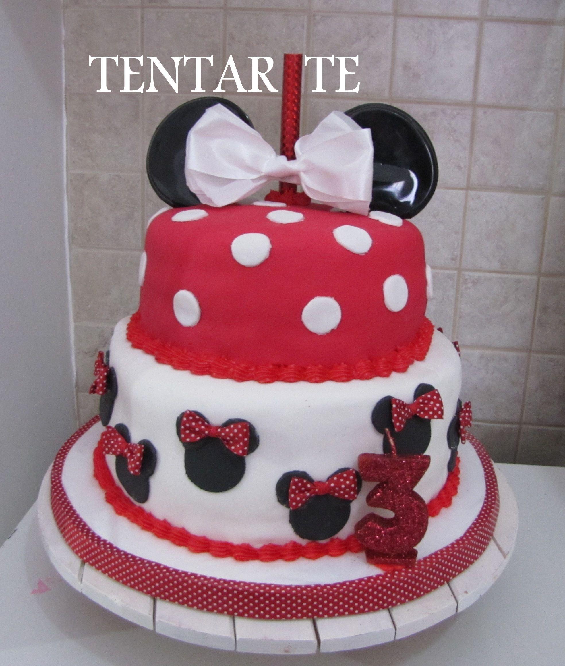 Minnie roja para un 3 años