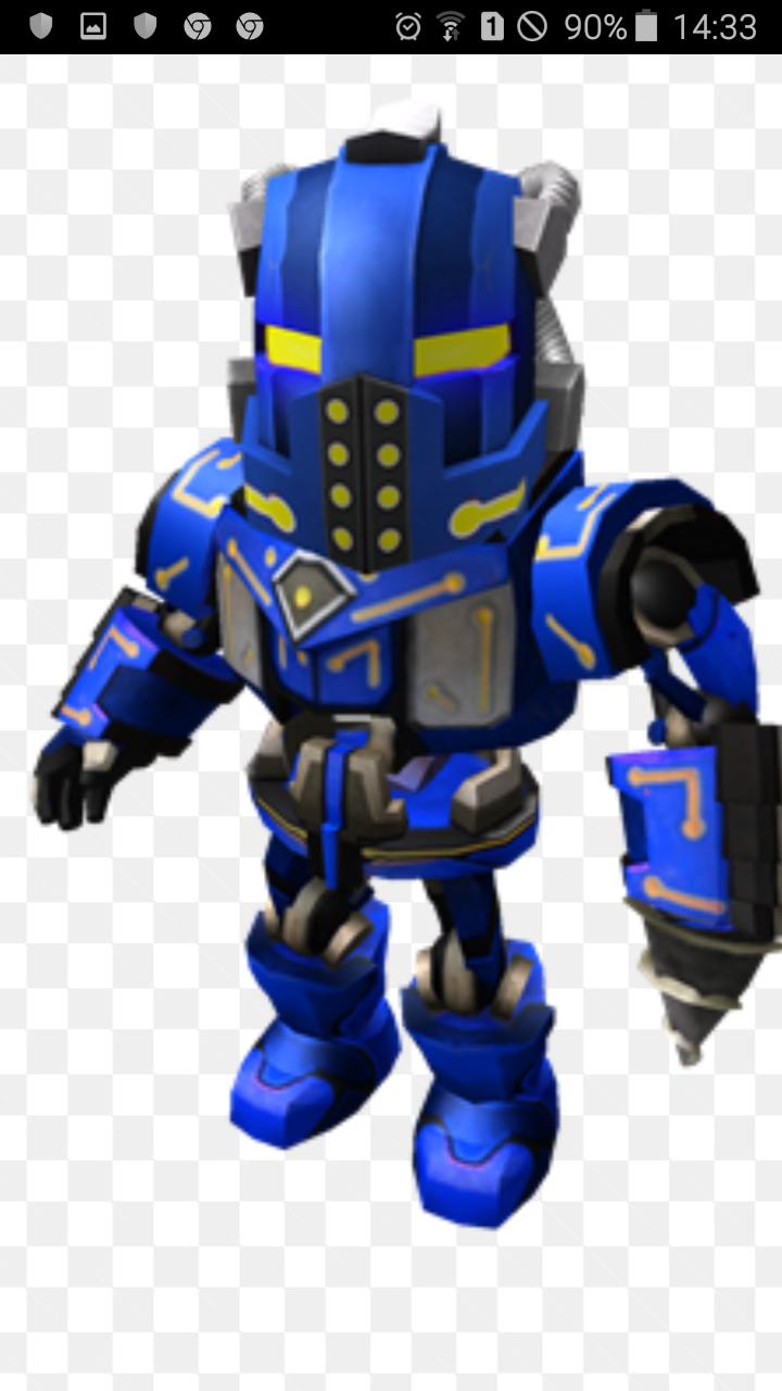 Hack Skin In Roblox Blue Robot