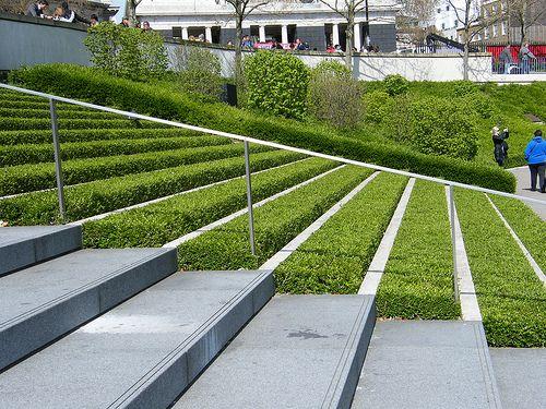 Grass Steps By Mdtauk Via Flickr