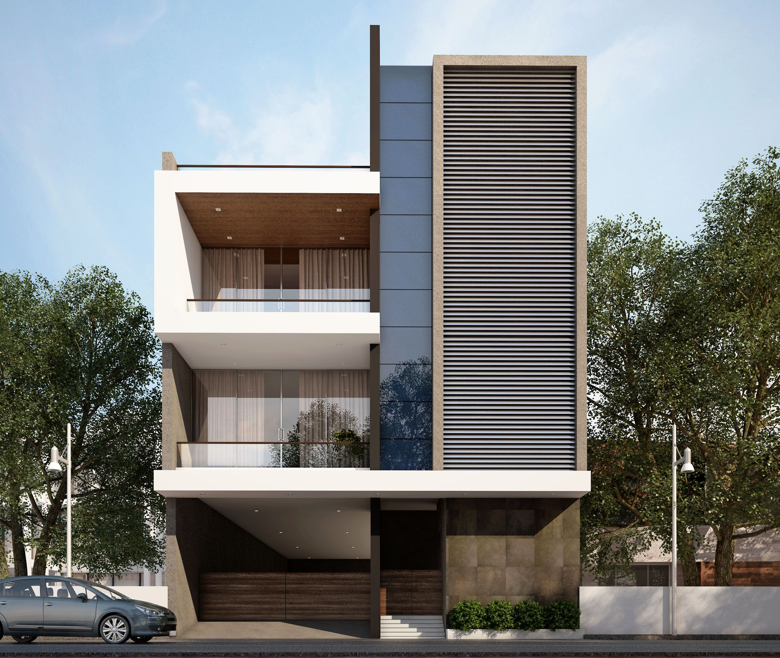 Beautiful Bunglow Elevation With Appealing Modern Design