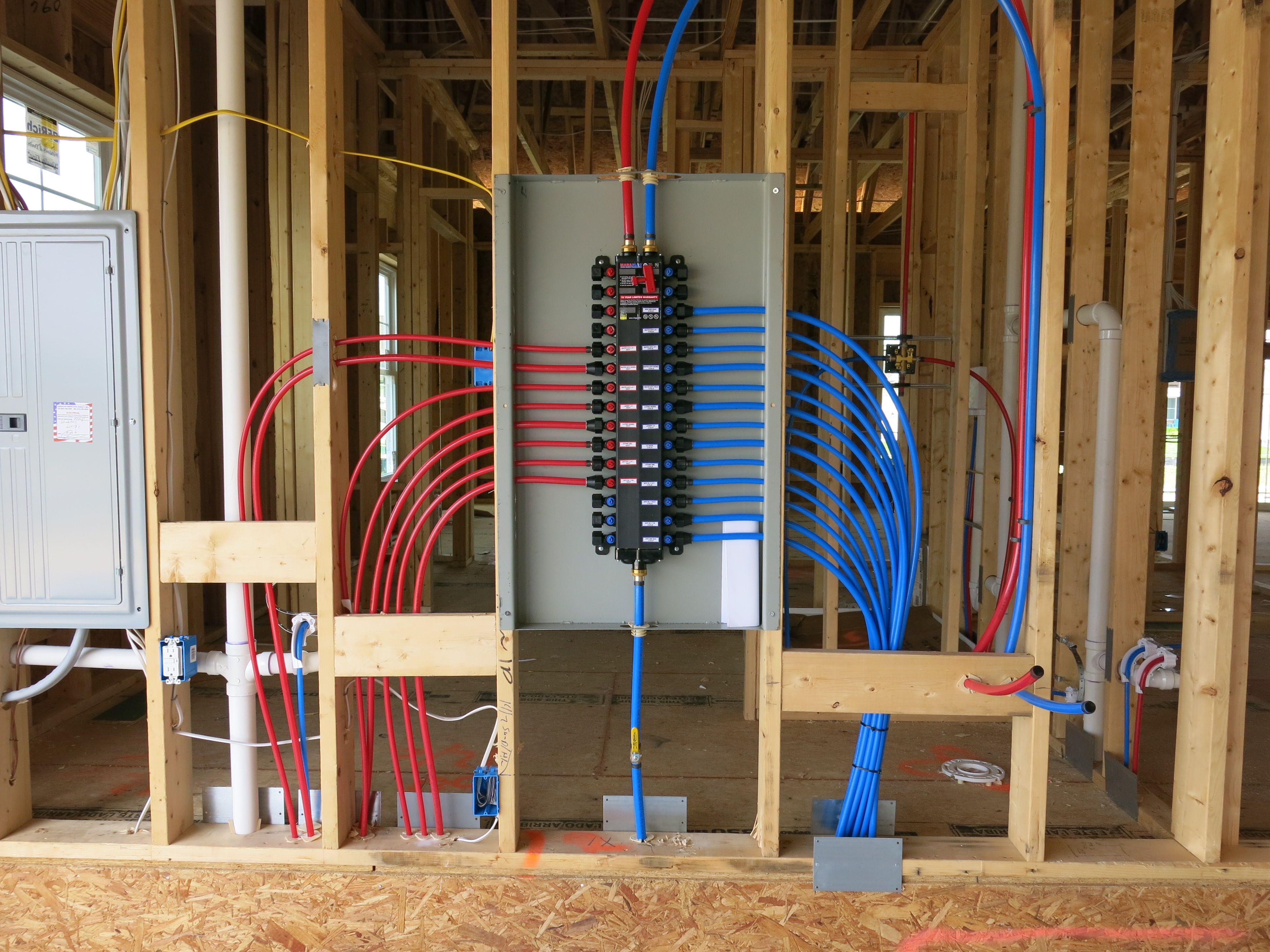 We Use The Manabloc Plumbing System Which Provides A Separate