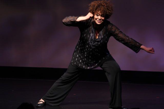 "From The Best of the Fest Benefit Performer: Kim Coles during her solo show ""Oh, But Wait, There's More!"""