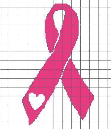 Cancer ribbon crochet chart crochet chart chart and crochet cancer ribbon crochet chart craftsy dt1010fo