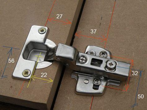L\u0027Atelier Bois - Generic - Placard MDF - 3 Moulures portes - fixation porte de placard