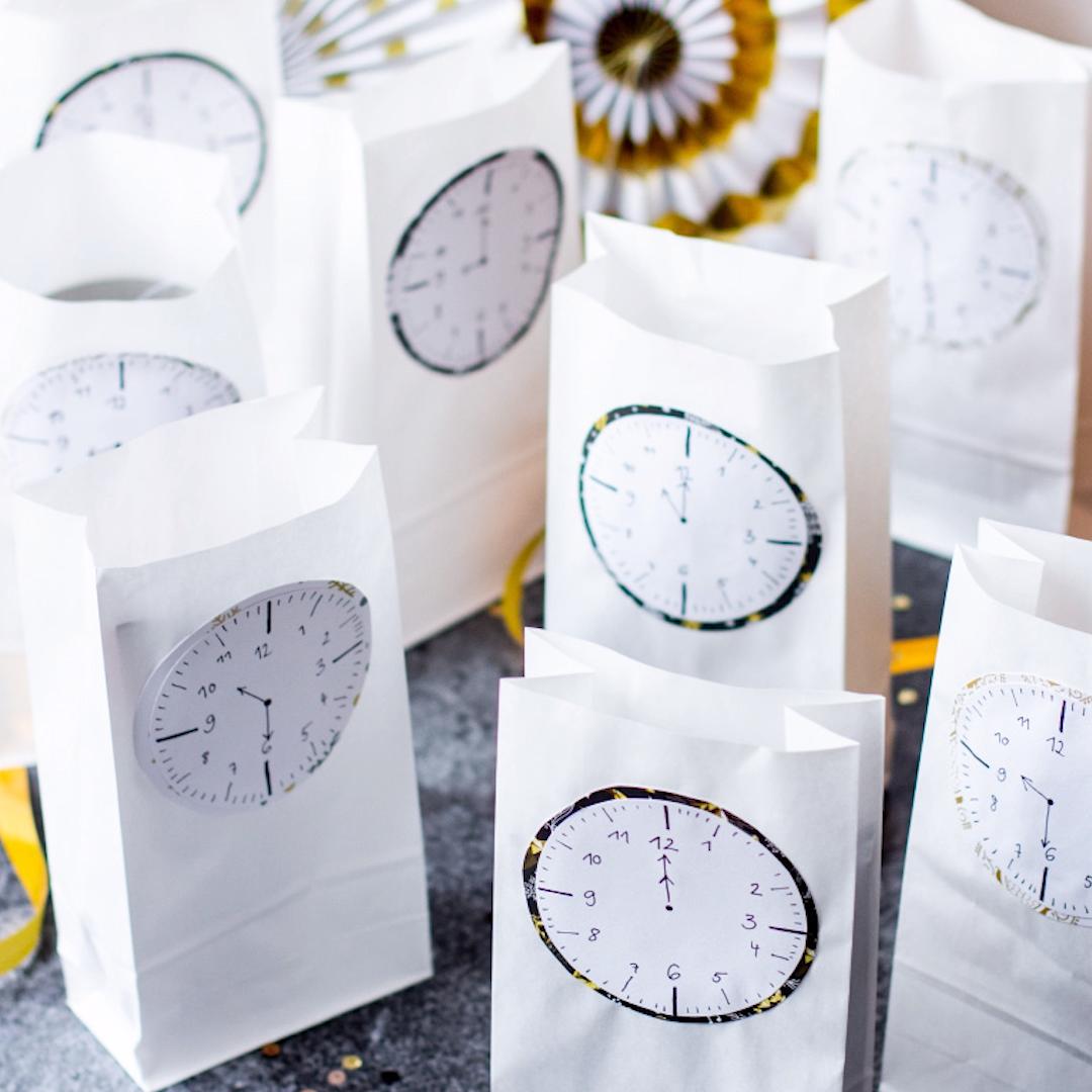 Photo of Countdown-Tüten für Silvester
