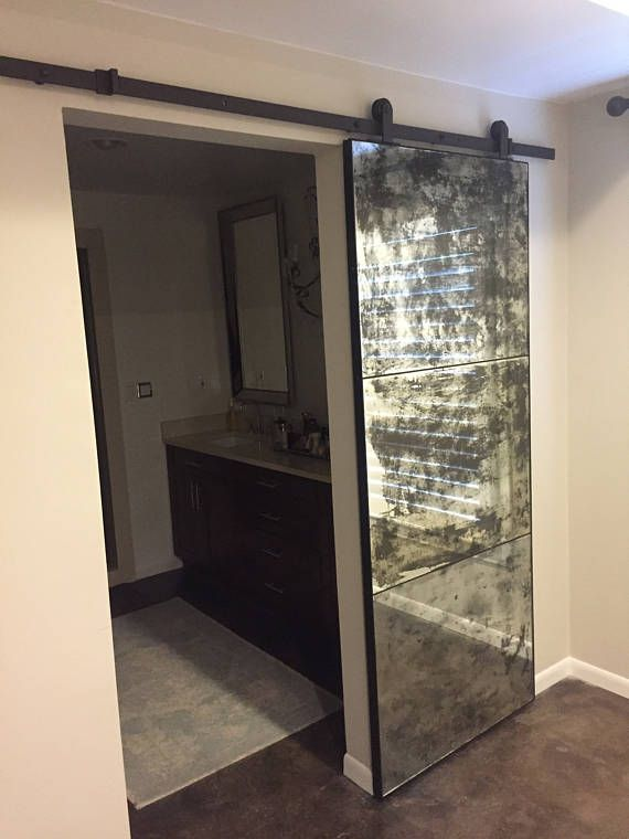 Beautiful Handmade Barn Doors Crafted By The Master Carpenters Of Crow River Creations With Over 45 Years Mirror Barn Door Sliding Mirror Sliding Mirror Door