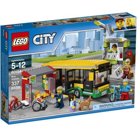 lego city bus station 60154 legos lego city gare routi re lego. Black Bedroom Furniture Sets. Home Design Ideas