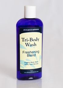 Tri-Body Wash Skincare for Athletes   natural ingredients  Trial sizes: http://www.skincareforathletes.com/index.php/tri-me-sizes