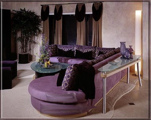 HD WALLPAPERS Beautiful Curtains And Colours Decorate a Room