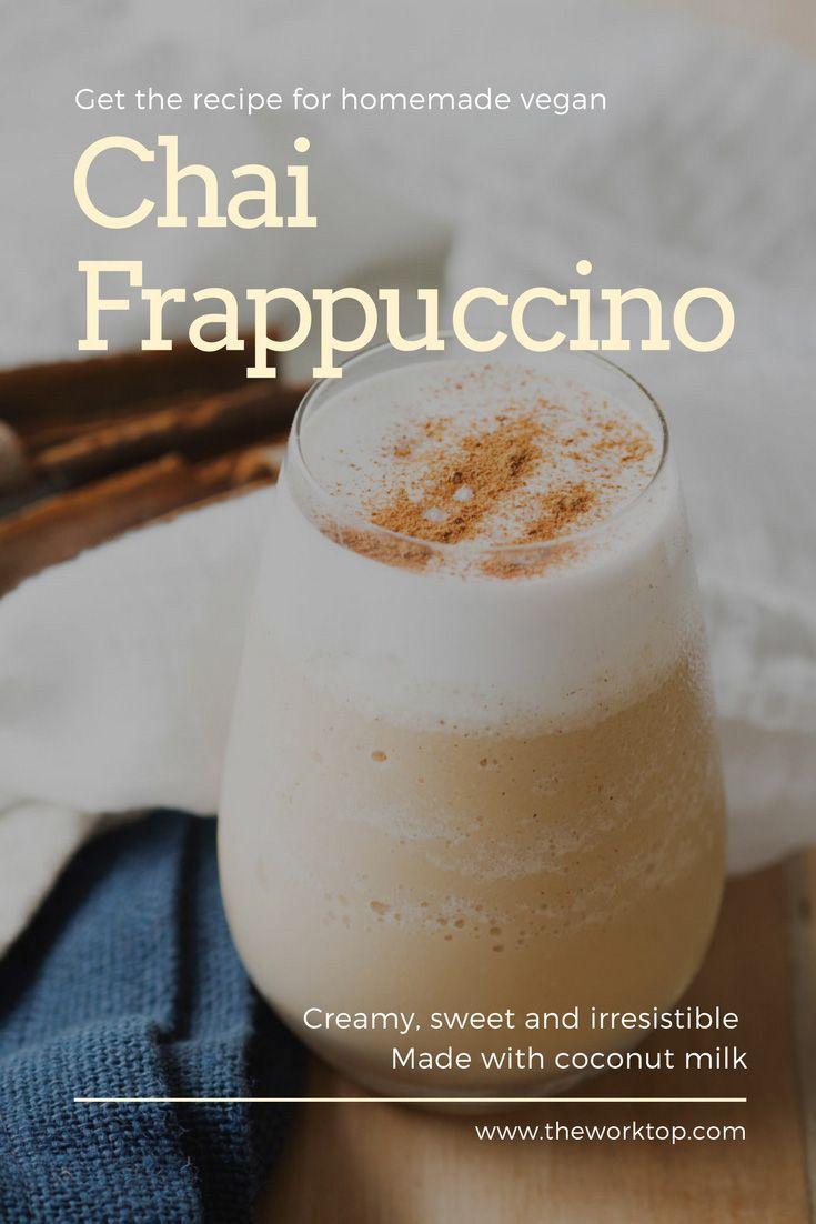 Chai Frappuccino Vegan