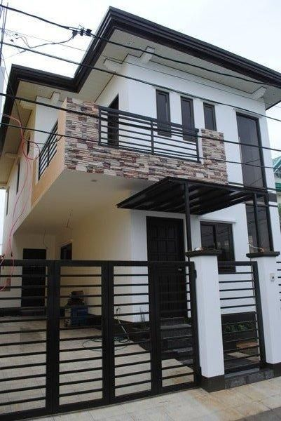 Simple 2 storey Zen Type house I want to have | Home ♡ | Pinterest on small modern contemporary homes, not so big house, small concrete house, small bungalow house plans, kinds of modern house,