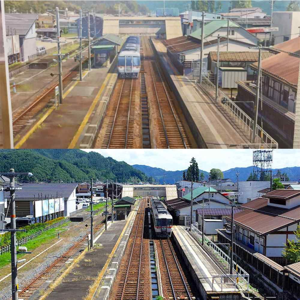 Real Life Places Used In Anime Movie Kimi No Na Wa Your Name