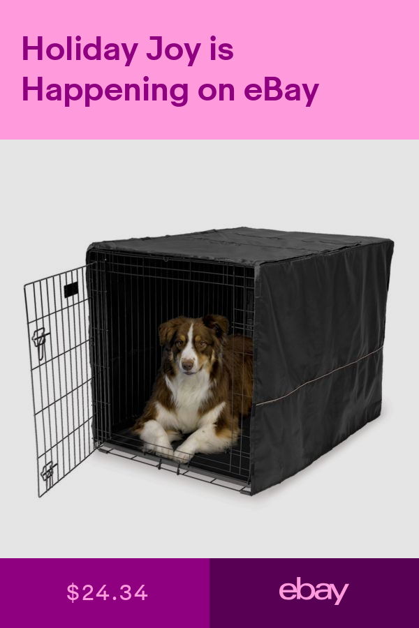Cages Crates Pet Supplies Ebay Large Dog Crate Cover Extra