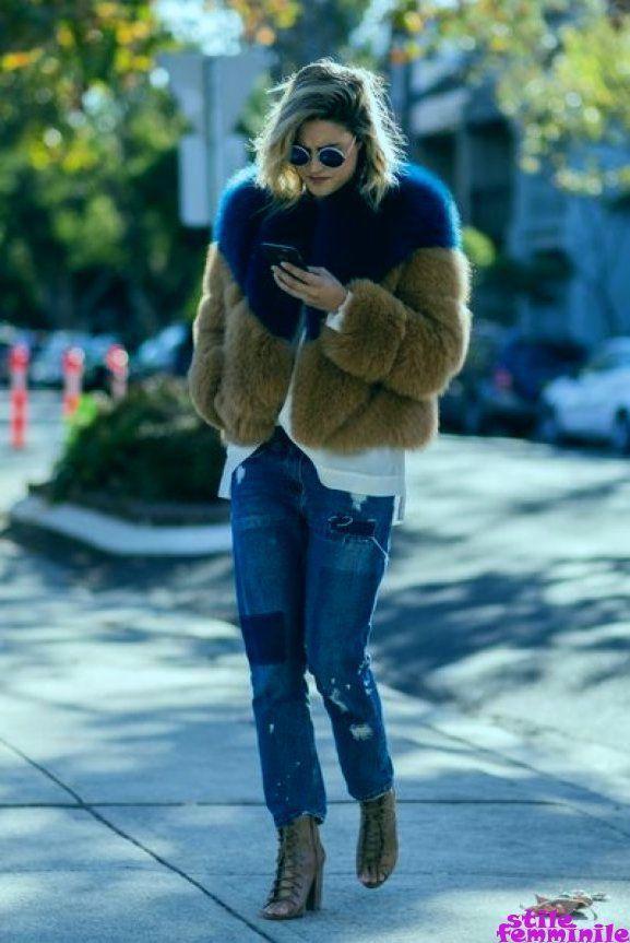 Photo of 20 fantastici modi per indossare il denim per l'abbigliamento invernale …