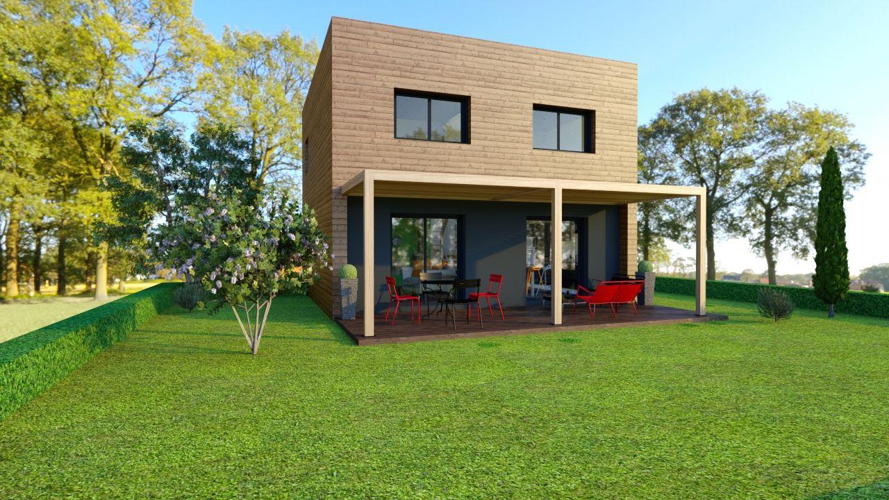 maison booa projet fait partir du mod le koob4 voir sur. Black Bedroom Furniture Sets. Home Design Ideas