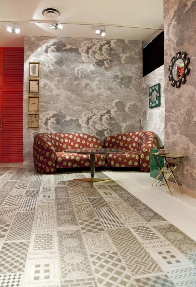 tarima Musciarabia. Xilo 1934. Showroom Fornasetti. Milán