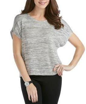 386fe5fdc Soft Knit Dolman Top - Style # 28374783 - BLACK WHITE PATTERN ...