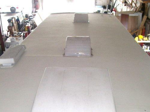 Travel Trailer Aluminum Siding Repair Aluminum Siding Repair External Lighting Air Conditioner Repair