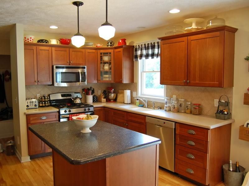 Images About Painting Kitchen Cabinets On Pinterest Oak With Paint Colors  For Cabinets