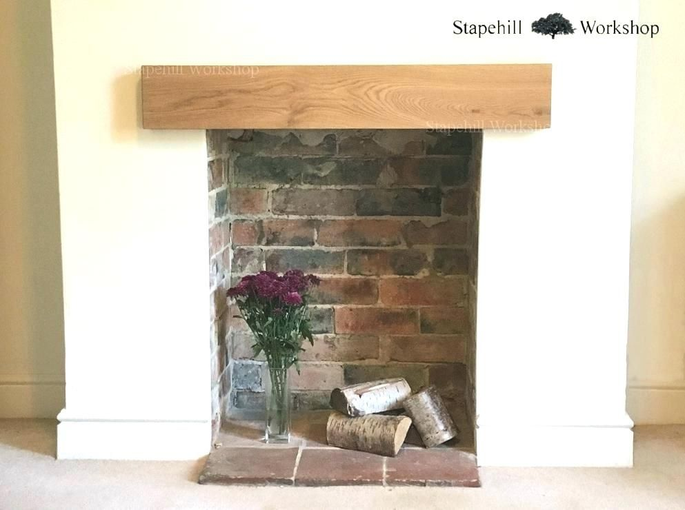 Oak Fireplace Mantel Wooden Beam Fireplace Wood Beams For