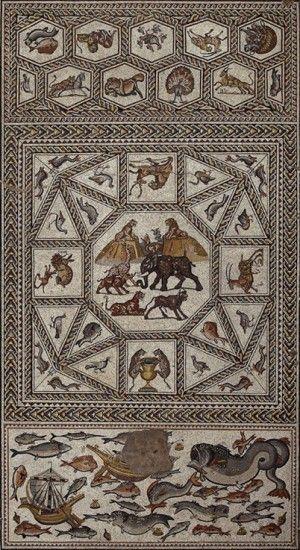 El mosaico de Lod. De 33 metros cuadrados y en un excepcional estado de conservación, el mosaico era el suelo de una de las estancias principales de una casa romana. Descubierto por casualidad dura…