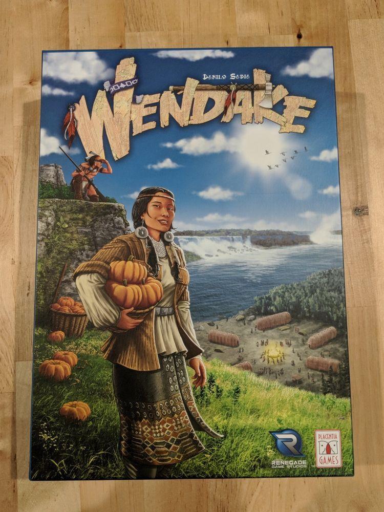 Renegade Game Studios Boardgame Wendake! Barely touched