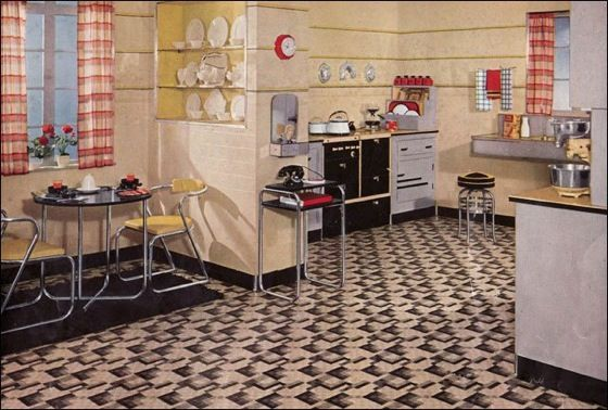 1930's Interior Design- Then And Now