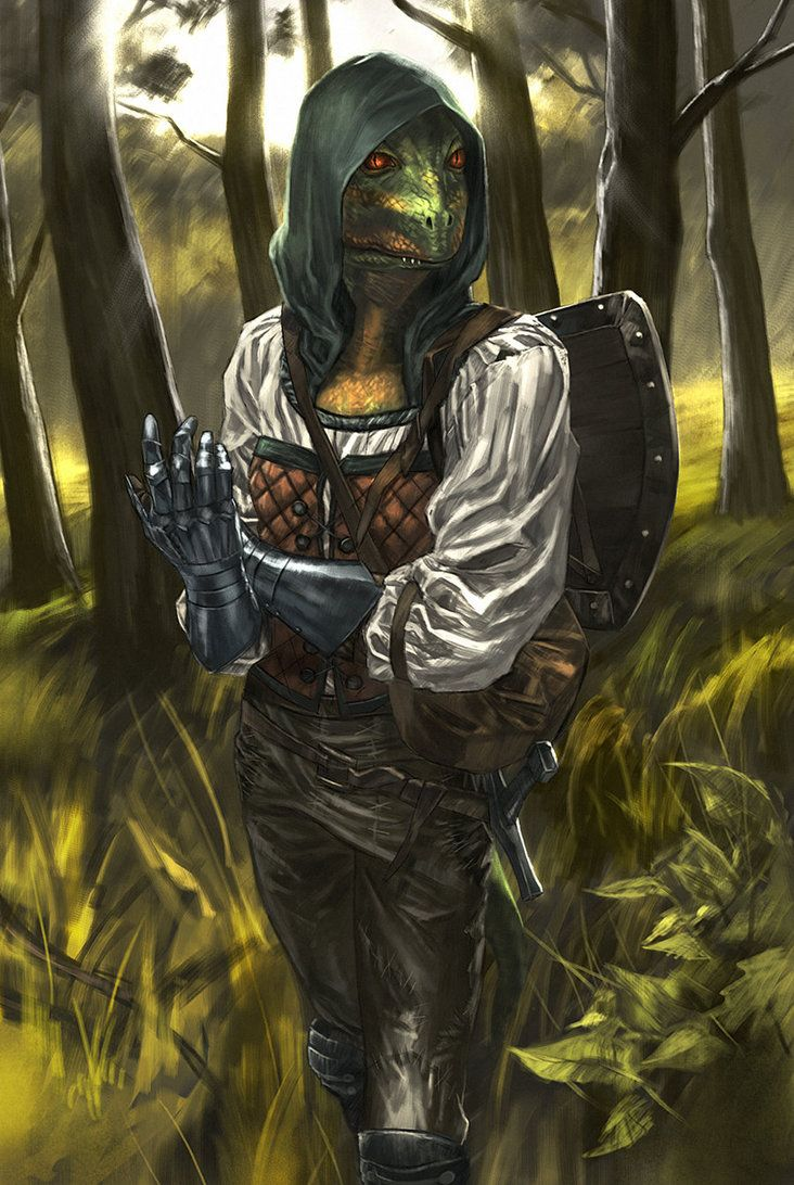 Argonian by Mad1984