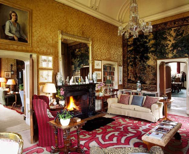 LISMORE CASTLE Ireland London Interior Designer Melissa Wyndham INTERIOR